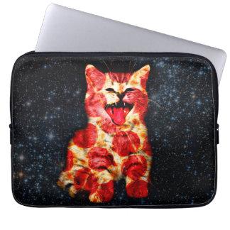 pizza cat - kitty - pussycat computer sleeve