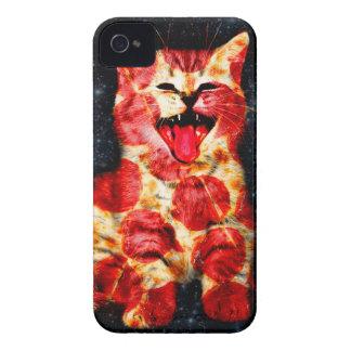 pizza cat - kitty - pussycat iPhone 4 Case-Mate case