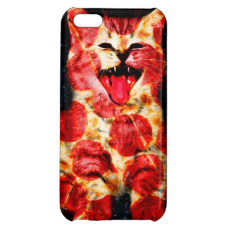 pizza cat - kitty - pussycat iPhone 5C covers