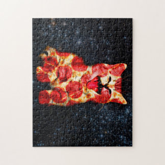 pizza cat - kitty - pussycat jigsaw puzzle