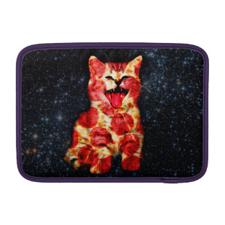 pizza cat - kitty - pussycat MacBook sleeve