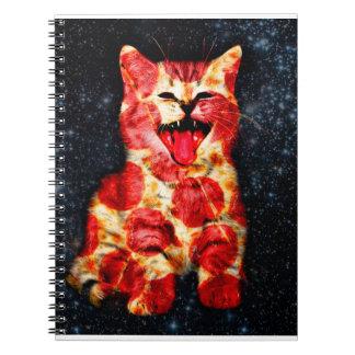 pizza cat - kitty - pussycat notebooks