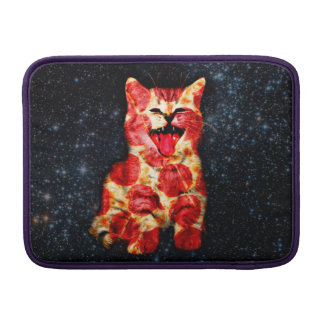pizza cat - kitty - pussycat sleeve for MacBook air