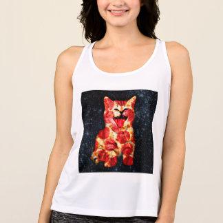 pizza cat - kitty - pussycat tank top