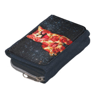 pizza cat - kitty - pussycat wallet