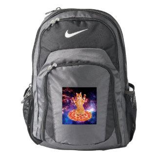 pizza cat - orange cat - space cat backpack