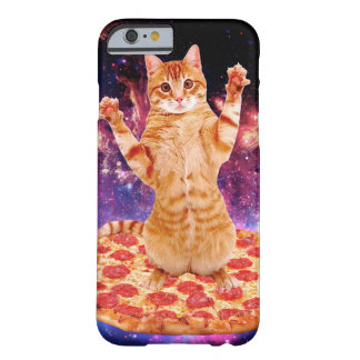 pizza cat - orange cat - space cat barely there iPhone 6 case