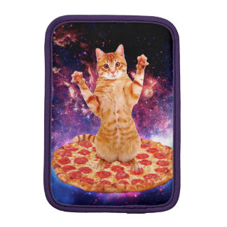 pizza cat - orange cat - space cat iPad mini sleeve