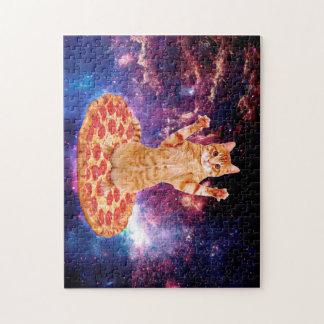 pizza cat - orange cat - space cat jigsaw puzzle