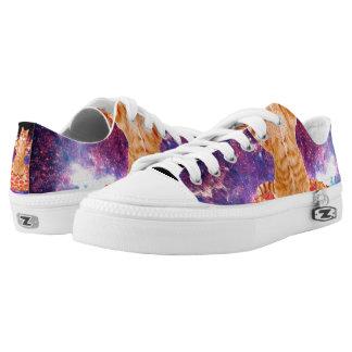 pizza cat - orange cat - space cat Low-Top sneakers