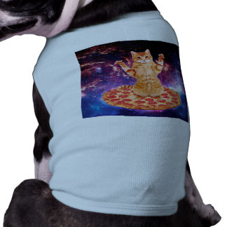 pizza cat - orange cat - space cat shirt