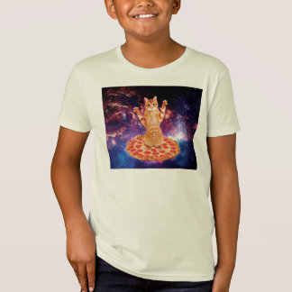 pizza cat - orange cat - space cat T-Shirt