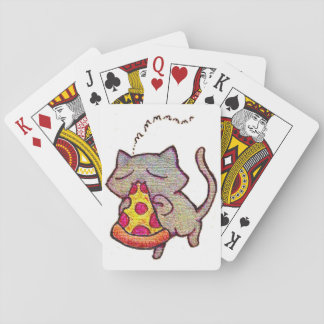 Pizza Cat! Playing Cards