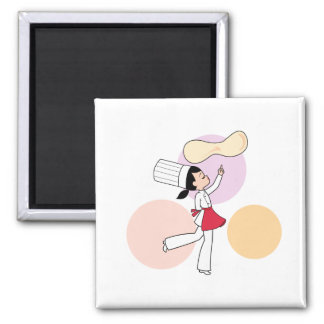 Pizza Chef Art Magnet