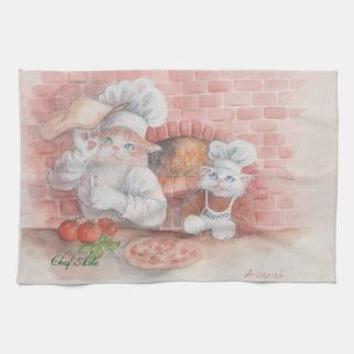 Pizza Chef Axle Dish Towel