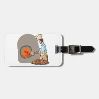 Pizza Chef Luggage Tags