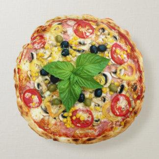 Pizza Cuisine Round Pillow
