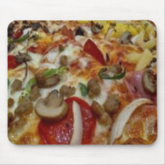 Pizza Customized Mousepad, Pizza Mouse Pad