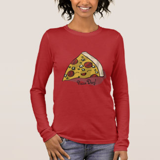 Pizza Day Long Sleeve T-Shirt