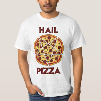 Pizza de grêle tshirts