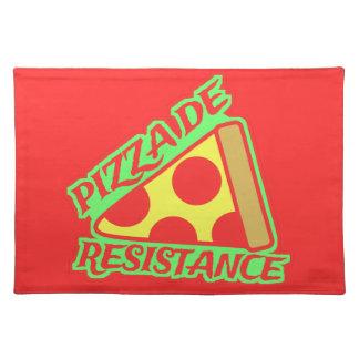 Pizza de Resistance Placemats