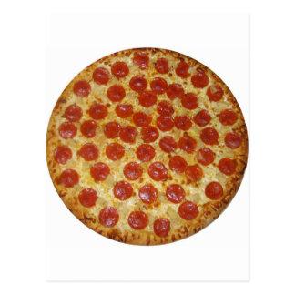 Pizza...Delicious Pepperoni Pizza Postcard