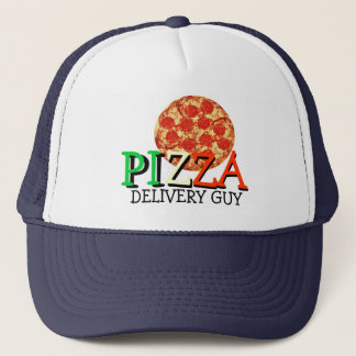 Pizza Delivery Guy Trucker Hat