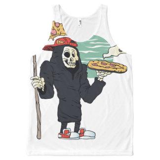 Pizza delivery reaper grim