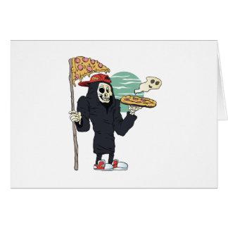 Pizza delivery reaper grim card