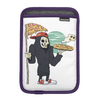 Pizza delivery reaper grim iPad mini sleeves