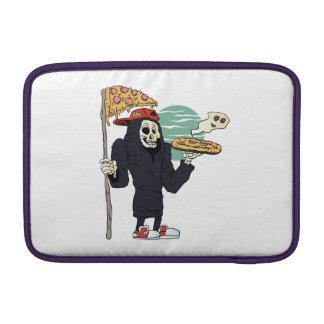 Pizza delivery reaper grim MacBook air sleeves