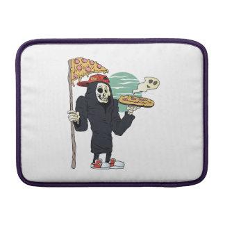 Pizza delivery reaper grim MacBook sleeves