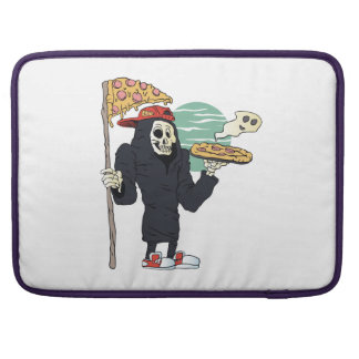 Pizza delivery reaper grim sleeve for MacBooks