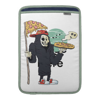 Pizza delivery reaper grim sleeves for MacBook air