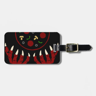 Pizza Demon – Summoner of Deliciousness Luggage Tag
