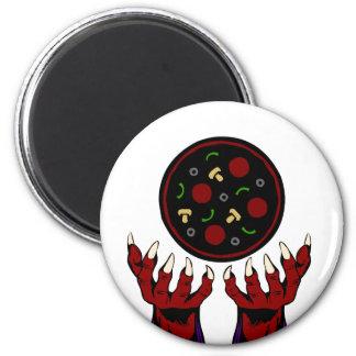 Pizza Demon – Summoner of Deliciousness Magnet