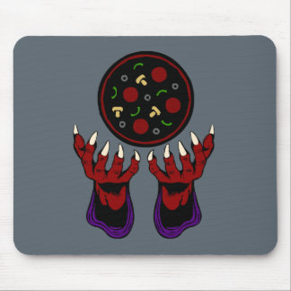 Pizza Demon – Summoner of Deliciousness Mouse Pad