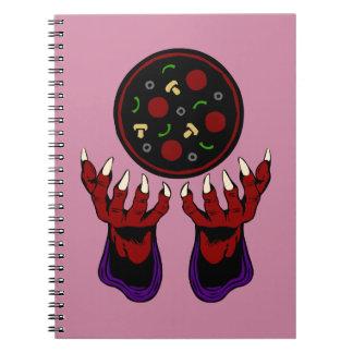 Pizza Demon – Summoner of Deliciousness Notebook