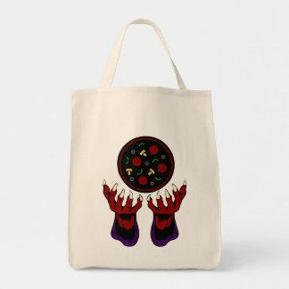 Pizza Demon – Summoner of Deliciousness Tote Bag