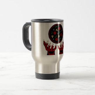 Pizza Demon – Summoner of Deliciousness Travel Mug