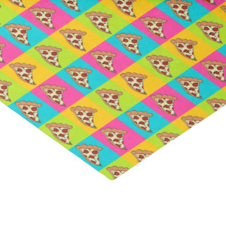 Pizza design tissue paper
