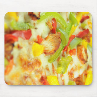Pizza detail mouse pad