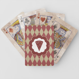 pizza diamonds bicycle playing cards