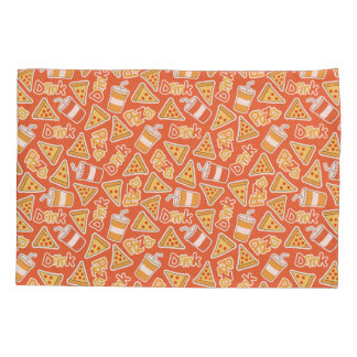 Pizza & Drink Pattern pillowcases