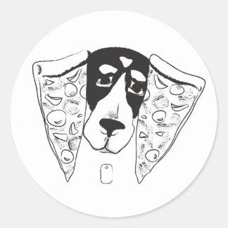 Pizza Ears Sticker
