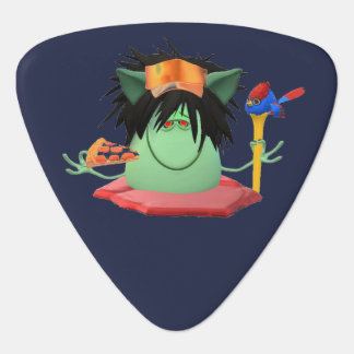 Pizza Eating Monster Guitar Pick