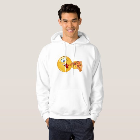 pizza emoji mens hooded hoodie sweatshirt hoody