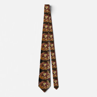 Pizza Enthusiast Tie