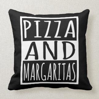 Pizza et margaritas coussin
