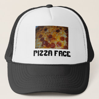 Pizza Face Trucker Hat